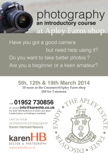Photography course 2014 poster by KHB Jpeg