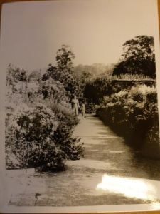 Walled Garden - archives 25 - Michael Coombes aged 6 in 1938 & his Aunt Ethel Coombes