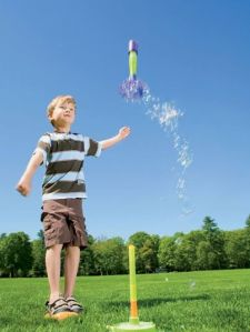 Water stomp rocket