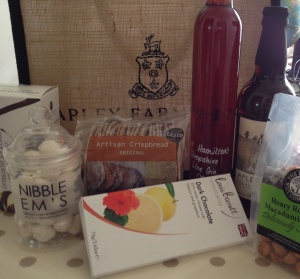 2014-07-07, teacher's leavers present £30 AFS hamper