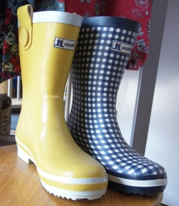 2014-07-15, Lottie's Summer Sale, SeaSalt wellies