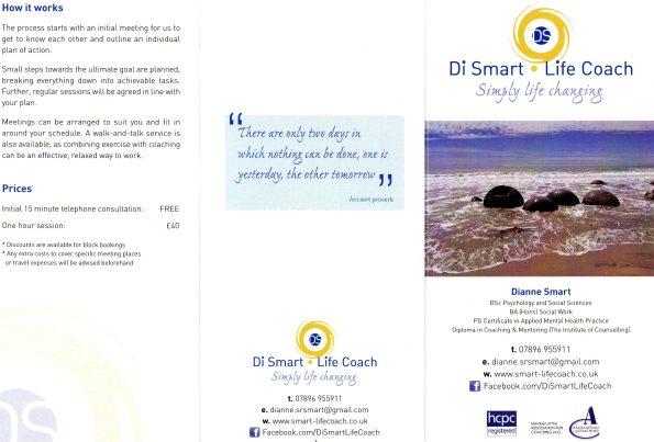2014-07-24, Dianne Smart self esteem courses - A5 leaflet jpeg (1)