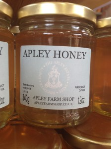 2014-08-14, Apley honey on display for the first time 2