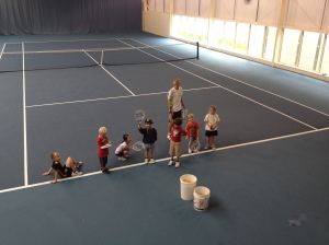 2014-08-14, Francis tennis course