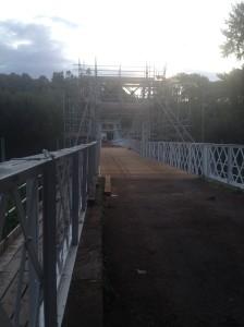 2014-08-22, Apley Bridge renovations
