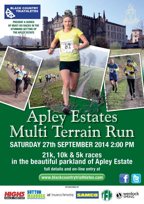 BCT Apley run poster