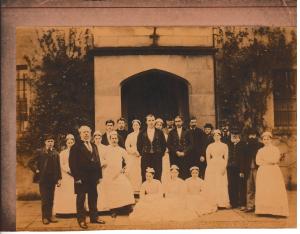 Apley Hall - Group of servants