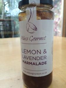 2015-01-10, Mike's Gourmet Lemon & Lavendar  marmalade