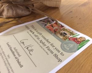 Apley Farm Shop voucher