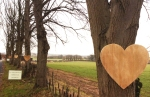 Wooden hearts down lime avenue