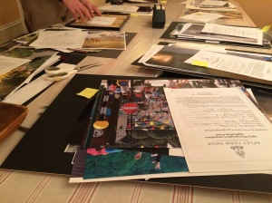 Sorting the Apley photography competition entries