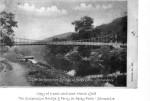 Apley Bridge & ferry, March 1908, Source: Bill Rowley