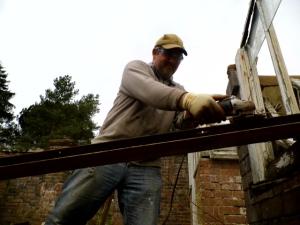 2015.02.04, Glasshouse repairs