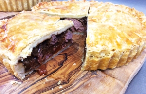 British Pie Week - beef & Apley ale pie
