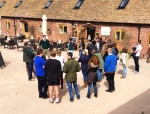 2015-04-16, Harper Adams University visit to Apley Farm Shop (2)
