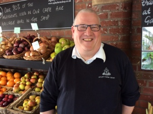 Andy Ecclestone - Apley Farm Shop supervisor