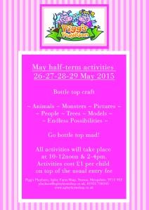 2015-05-07, Pigg's Playbarn Bottle top poster