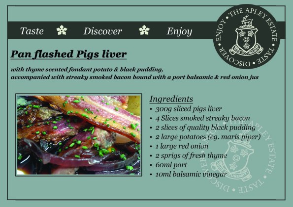 2015-05-21, AFS recipe card pan flashed pigs liver page 1