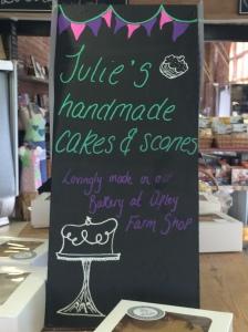 2015-05-25, Julie's handmade cakes & scones