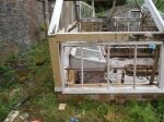 Replacement timber to glasshouse