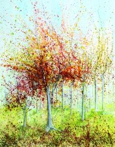 Wall 5(2) 'Autumn Glory' A2
