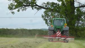 Silage making at 3pm