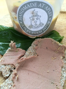 2015-06-01, Apley Farm Shop handmade pate