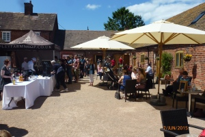 2015-06-07, OFS Apley barbecue & courtyard