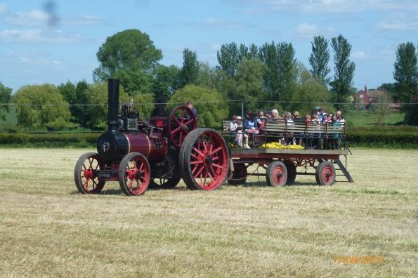 2015-06-07, OFS steam tractor & trailer