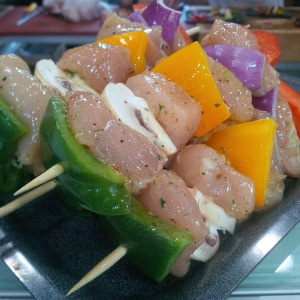 2015-06-14, Craig's chicken kebabs