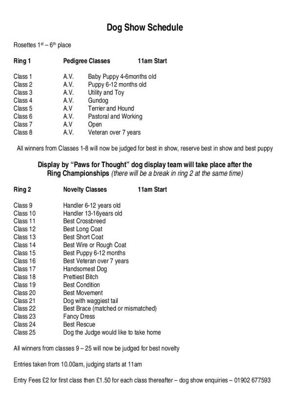 2015-06-16, Apley Dog Show schedule of classes - jpeg