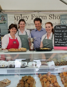 Newport Show, Apley Farm Shop won best food stand. Photo by Olly Cartwright
