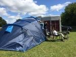 Summer holidays camping begins