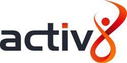 Activ8's logo
