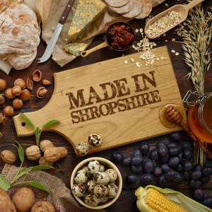 Made in Shropshire recipe book 1