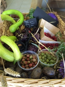 Apley Walled Garden vegetables - Eat seasonably !