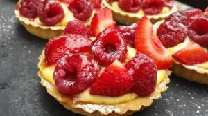 Apley summer fruit tarts by Matt Jones