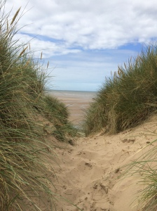2015-08-15, Talacre beach ride, dunes
