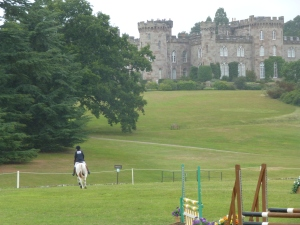 Pony Club championships, Cholmondeley Castle, Cheshire