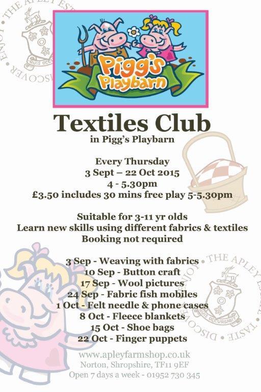 2015-08-26, PPB Textiles club