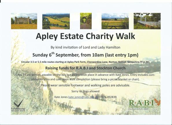 2015-08-27, Apley walk flier, RABI