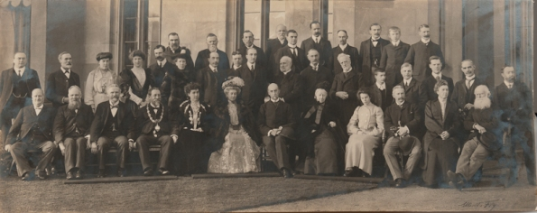 1901 Apley Hall group