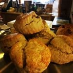 2015-09-04, Scones on the cakes counter