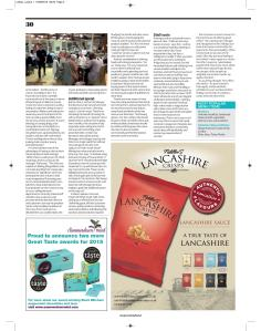 Specialty Food magazine, Sept 2015, page 30