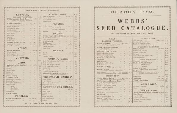 Webb seed catalogue 1882, KHB 4