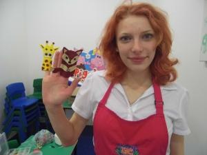 2015-01-10 Textile club - finger puppets (2)