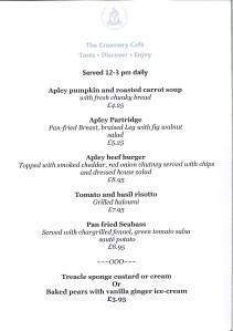 2015-10-01, Specials menu