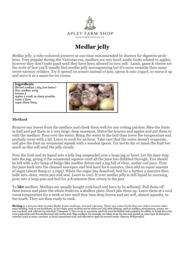 2015-10-03, Medlar jelly recipe JPEG