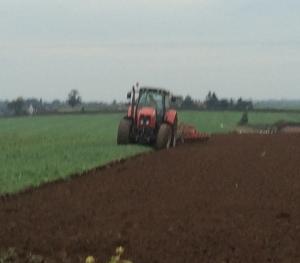 2015-10-11, Neighbour ploughing field