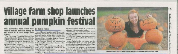 Bridgnorth Journal, 22 Oct 2015